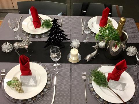 冬のテーブル