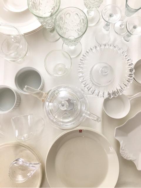 白×ガラスで作る 初夏の私流ティータイム レッスン